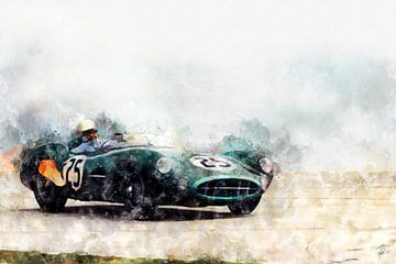 Carroll Shelby, DBR1 van Theodor Decker