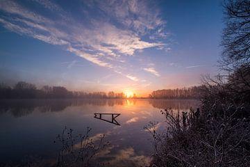 Prachtige zonsopkomst bij meer von Moetwil en van Dijk - Fotografie