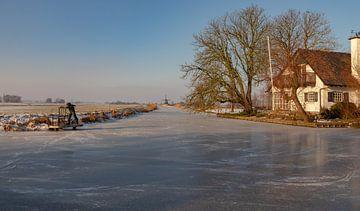 Winterlandschaft von Bert - Photostreamkatwijk