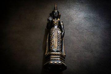 Beeldhouwwerk Buddha van Arash Mahdawi Nader
