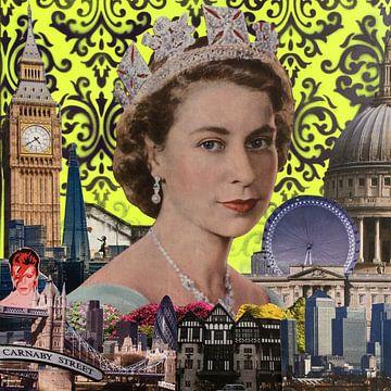 Queen, 2015, (mixed media) sur Anne Storno