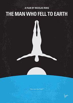 No208 My The Man Who Fell to Earth minimal movie poster van Chungkong Art