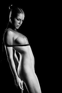 Mooie naakte vrouw. #C4711 van william langeveld