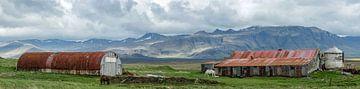 Iceland farm van