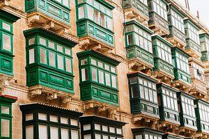Het groene balkon van Michelle Rook