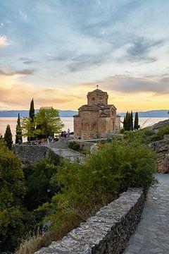 L'église Saint-Jean de Kaneo Ohrid République de Macédoine sur Cor de Hamer
