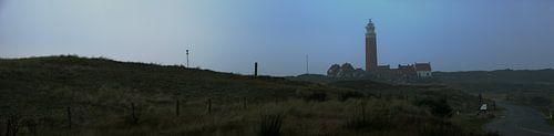 Panorama vuurtoren op Texel van