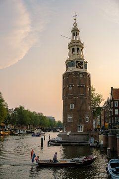 Montelbaanstoren Amsterdam van Alex van der Aa