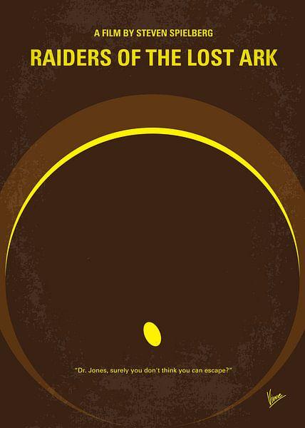 No068 My Raiders of the Lost Ark minimal movie poster van Chungkong Art