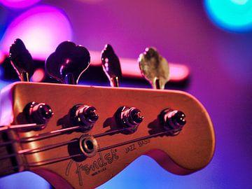 Fender Bass Guitar van Patrick vdf. van der Heijden