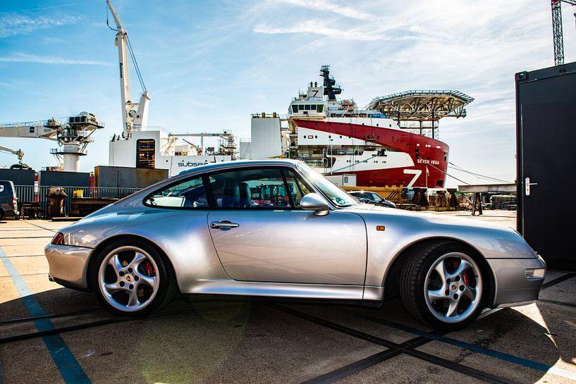 Porsche in de Haven van Brian Morgan