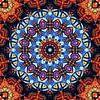 Mandala fraktal 3 von Marion Tenbergen Miniaturansicht