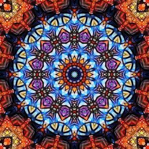 Mandala fractal van