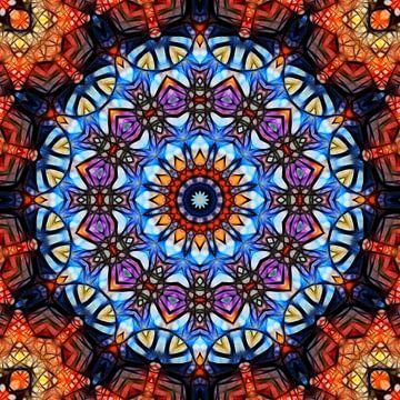 Mandala fractal van Marion Tenbergen