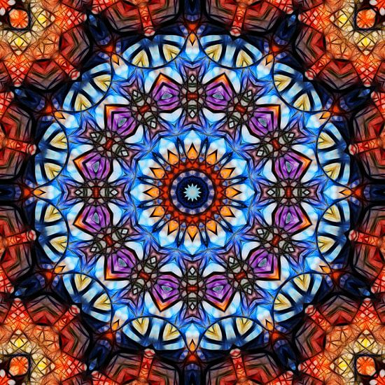 Mandala fraktal 3