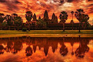 Angkor Wat van Cristina Vergara
