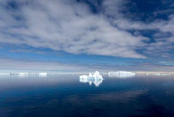 IJsschotsen op Antarctica van Angelika Stern