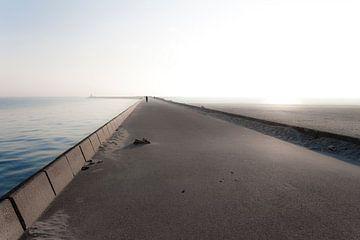 Pier Wijk aan Zee van Stijn Bokhove
