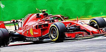 Kimi Räikkönen // Seizoen 2018 // F1 van Jean-Louis Glineur alias DeVerviers