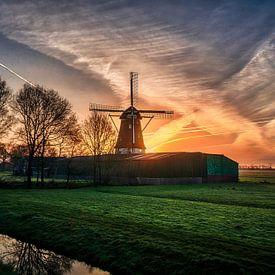 Een Hollandse zonsopgang! van Robin Pics