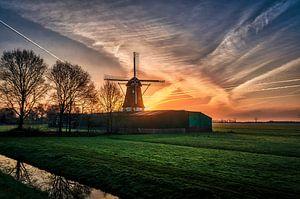 Een Hollandse zonsopgang! van