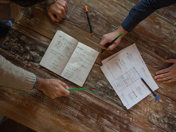 Work and write