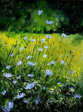 Blue cornflowers van pol ledent