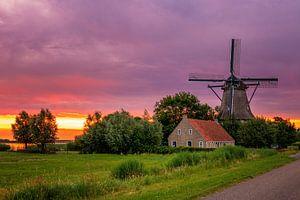 Langweerder Mühle von Sander Peters Fotografie