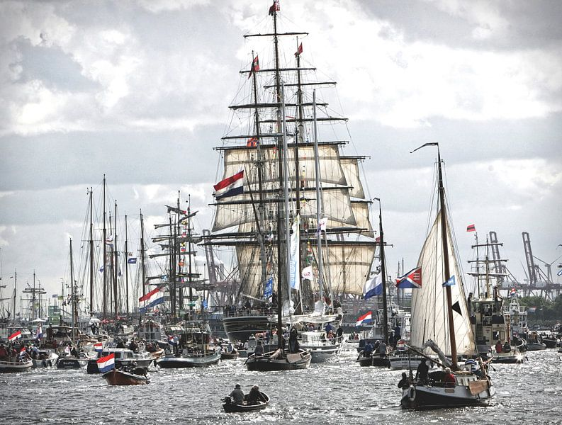 Sail  Amsterdam van Bert Westendorp