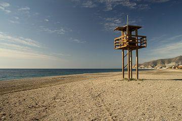 The Abandoned Beach sur Cornelis (Cees) Cornelissen