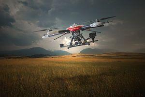 De smart drone van