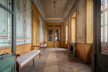 couloir abandonné dans une villa sur Kristof Ven