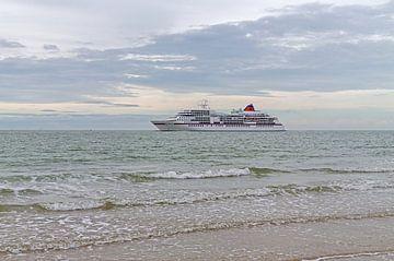 Cruiseschip Ms Europa van MSP Canvas