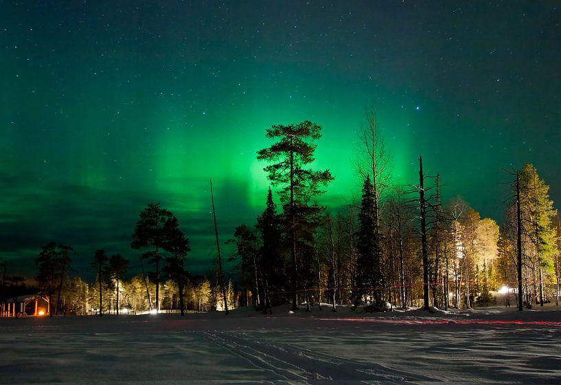 Fins Noorderlicht von Guido Akster