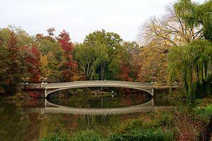 Bow bridge in New York City
