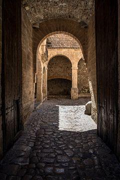 Eingang am Portal Ses Taules von Alexander Wolff