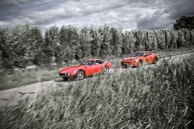 Toyota 2000GT & GT86: The drive van Sytse Dijkstra