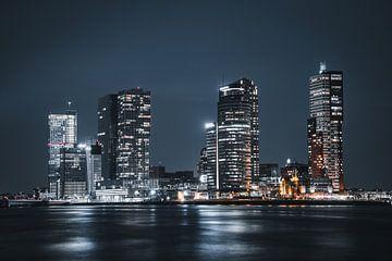 skyline Rotterdam von vedar cvetanovic