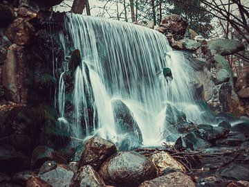Sonsbeek Park - Wasserfall von Davy Hansen
