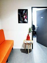 Kundenfoto: Stilllebenblumen Balthasar van der Ast von Sander Van Laar, auf acrylglas