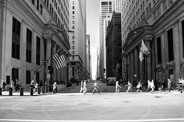 overstekende mensen in Chicago von Irene Kuizenga
