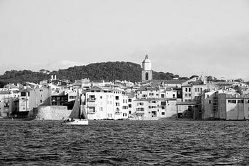Rustige dag in Saint-Tropez van Tom Vandenhende