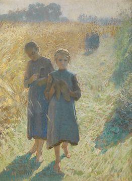 Les filles dans les champs, Emile Claus
