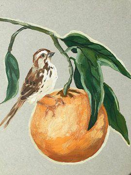 Orange ist die neue Industrie von Helia Tayebi Art