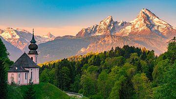 Maria Gern, Berchtesgaden, Bayern, Deutschland von Henk Meijer Photography