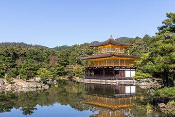 Goldener Tempel in Kyoto von Mickéle Godderis