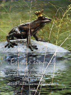 Froschkönig van Christine Nöhmeier