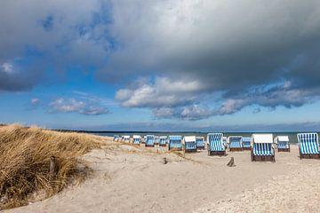 Strandkörbe in Prerow an der Ostsee von Christian Müringer