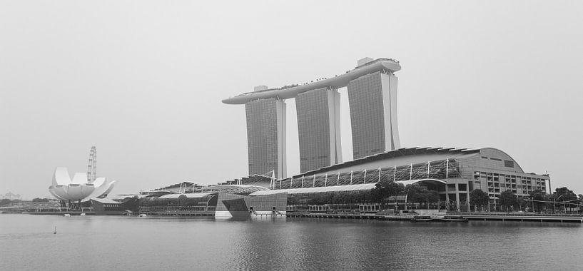Marina Bay Sands, zwart wit van Capture the Light
