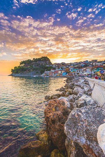 Parga Griekenland van Andy Troy